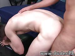 Hairy gay guys smash asses in a close up