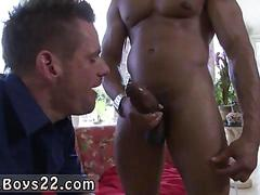 Sucking the cock and the black man loves it