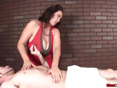 big tits, handjob, milf, massage, meanmassages, big-boobs, femdom, slave, mom, mother, brunette, natural-tits, stroking, tugjob, huge-tits