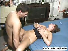 Amateurity amateur babe gets her pussy nailed