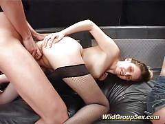 Hot german groupsex bukkake fuck orgy