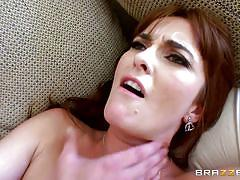 Lusty bianca gets banged hard