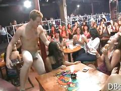 Stripper has a horde of women eager for his schlong