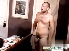 Guy gets aroused erect and he jerks it off