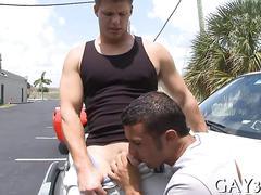 Hardcore gay fuck scene hard