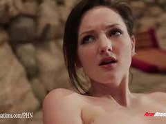 Shane diesel fucks petite tegan mohr by the pool