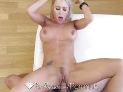 Katie morgan returns to porn on puremature.com