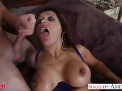 Chesty mom francesca le fucking a large dick