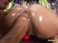 Goldwin pass busty milf gets fisted deep