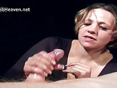 Hand job heaven getting a oily hand job