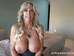 Wifeys world horny wife loves hard cock