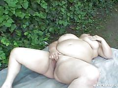 Fat girl craves for a dick