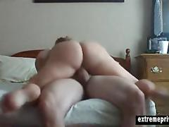 Spy footage of pawg milf norah riding her bf