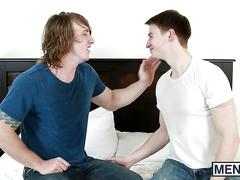 Future stepbrothers matthew and tom enjoy a hot fuck session