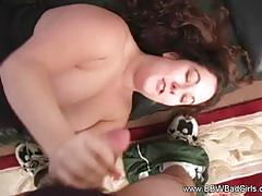 Bbw bad girls amateur bbw cock tugging