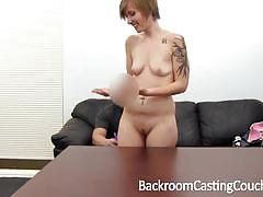 Backroom casting couch amateur babes fucked in...