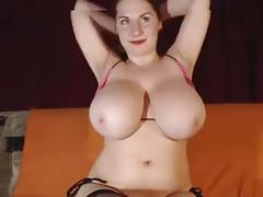 Giant natural tits milf