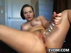 German slut with nice breasts