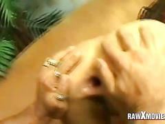 Anal fucked by two men