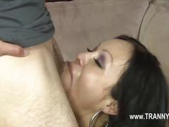 Insane shamale girl with penis fucking her friend  video