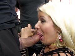 laela pryce, blowjob, suck, swallow, facial, dirty, blonde, cumload, cum, groupsex, naughty, face, dildo, man, gagged, party, eating out, pussy licking, gag, funny