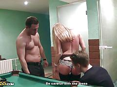 blonde, threesome, deep throat, from behind, public pickup, billiard table, sex for money, russian babe, pickup fuck, wtf pass, amber daikiri