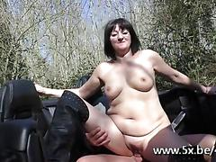 amateur, anal, mature, brunette, french, outdoors, glass