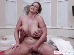 big tits, brunette, hardcore, milf, seducedbyacougar, fake-tits, mom, huge-tits, mother, naughty-america, eva-notty, pornstar, big-tits, busty, blowjob, trimmed, reverse-cowgirl, cumshot