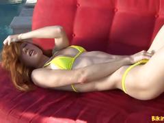 Heather carolin poolside dildo