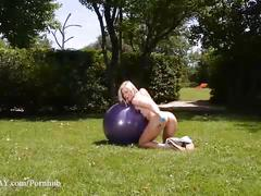 blonde, masturbation, public, small tits, ddfnetwork, 1byday, masturbate, tracy-lindsay, outdoors, czech, sexercise, orgasm, college, athletic, anal, natural-tits, shaved