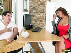 Reality kings milf kitana demanding her employ...