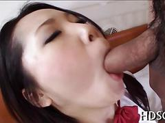 Her hairy cunt gets fucked and she loves the orgasm