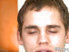 Mindblowing blowjob with gays porn film 1