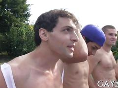 Boys rub on each other clip feature 1