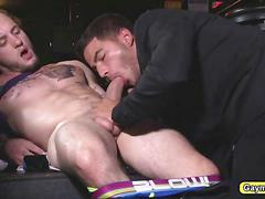 Vadim slides his dick in coltons asshole