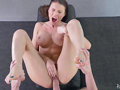 Luring in kitana lure and ass hammering her de...