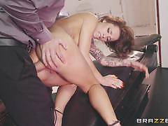 Ass banging babe nikita bellucci takes it all...