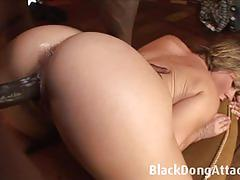 Amateur babe takes on hard cock