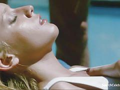 Ludivine sagnier - swimming p-ool