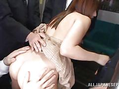 threesome, babe, japanese, rimjob, blowjob, public sex, censored, asian group, fuck from behind, public sex japan, all japanese pass, rina rukawa