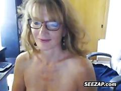 big boobs, homemade, mature, webcam, busty, milf, nerd, solo, posing