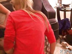 Party loving chicks get fucked at a smutty party
