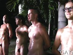 college, public, gay, blowjob, hardcore, group sex