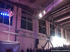 Amazing pole dancing show