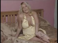 Blonde pregnant