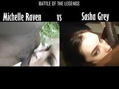Michelle vs sasha