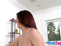 She has nice perky boobs she shows off