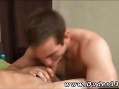 Sexy fuck buddies with muscles suck some dick in bed