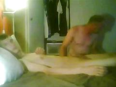 Older man seduces amateur twink