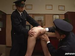 Japanese amateur gets her pussy examined